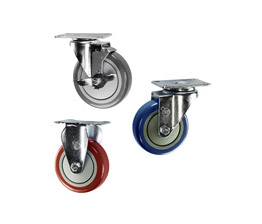 Polyurethane wheel casters