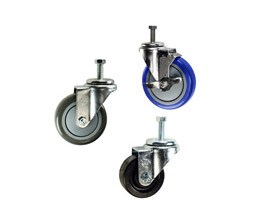 Threaded stem caster selections