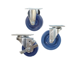 solid polyurethane wheel casters