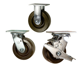 high temperature phenolic wheel casters