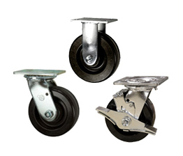 Phenolic wheel heavy duty casters