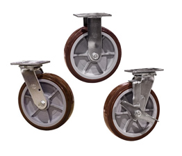 best selling polyurethane tread casters