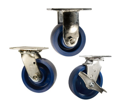 solid polyurethane casters