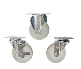 Nylon Wheel Stainless Steel Casters