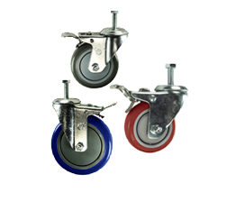 Threaded Stem Total Lock Casters