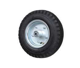 Pneumatic tire wheels