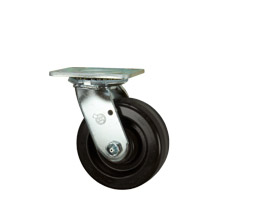 Phenolic wheel casters