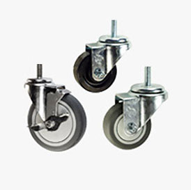 THREADED STEM CASTERS
